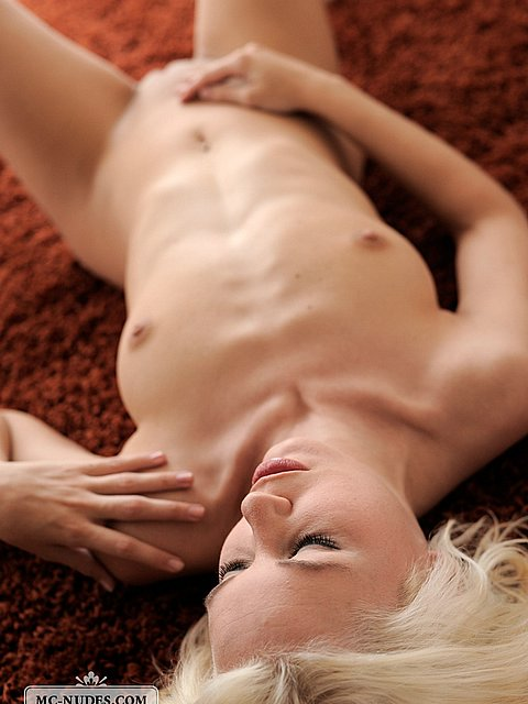 Swedish blond MC-Nudes model